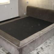 Phoca thumb l velvet bed frame