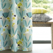 Bespoke curtain and cushion combination